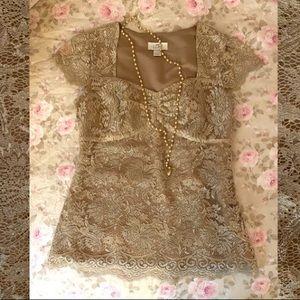 Ann Taylor Loft lace blouse. Gorgeous! Size 0